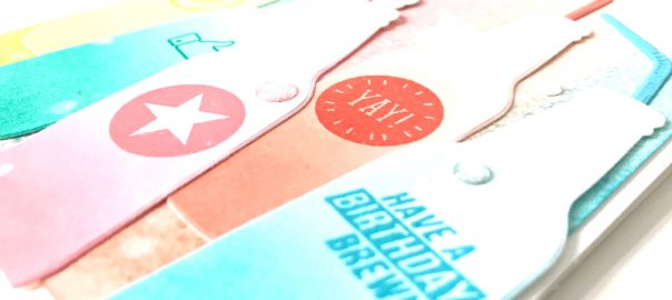 Bubble, Bottles & Bubbles Over Stampin up