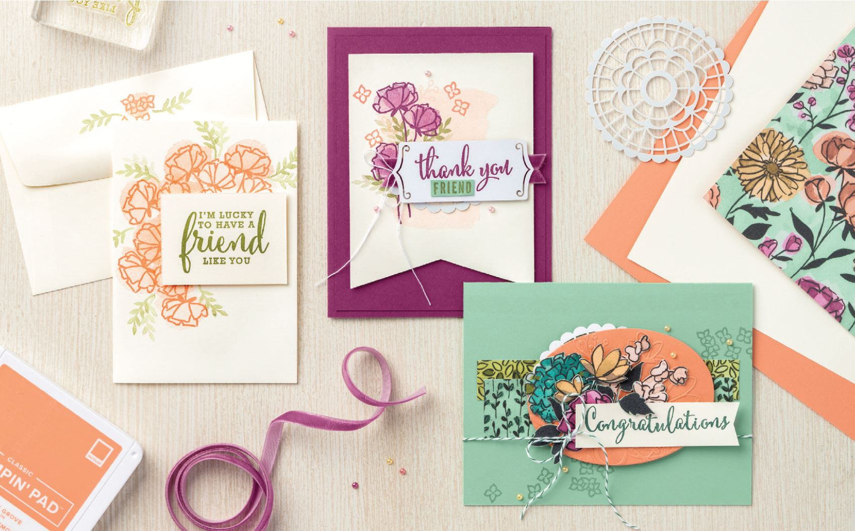 Share what you love bundels Stampin Up