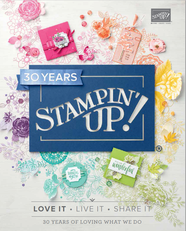 Start van de catalogus stampin up 2018 - 2019