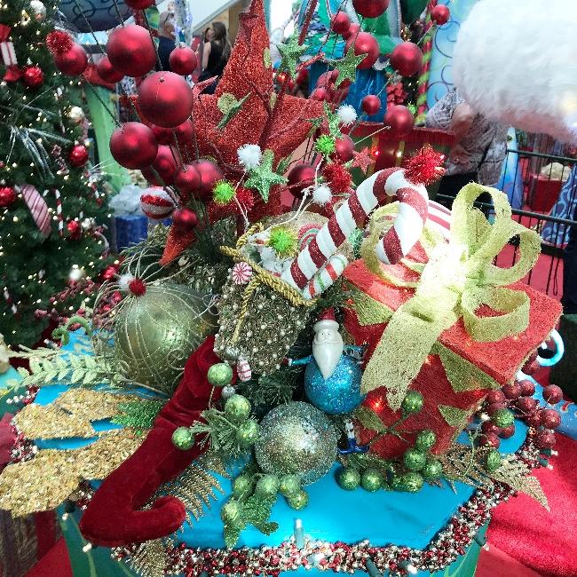 kerst in de mall