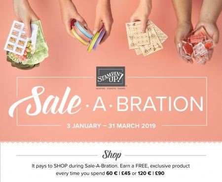 Sale-a-bration 2019 SAB stampin up