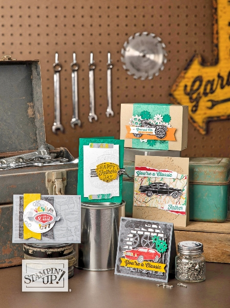 geared up garage stampin up
