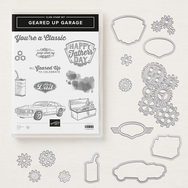 Geared Up Garage Bundle Stampin Up
