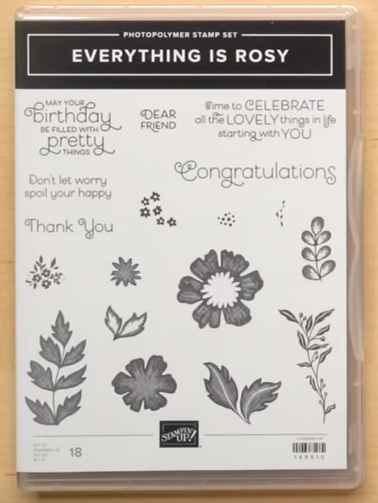Everything is Rosy stempel set stampin up