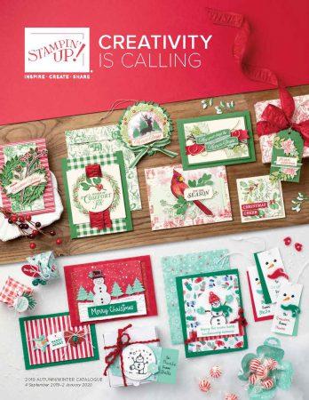 Herfst winter catalogus 2019 Stampin Up Najaarscatalogus