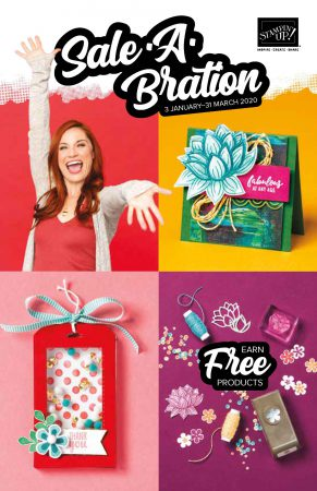 Sale a Bration 2020 minicatalogus en Sale-A-Bration brochure