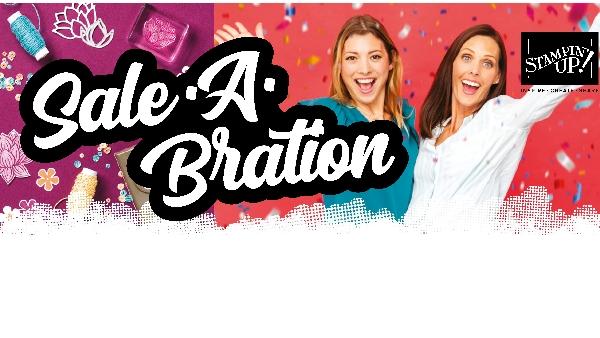 minicatalogus en Sale-A-Bration brochure