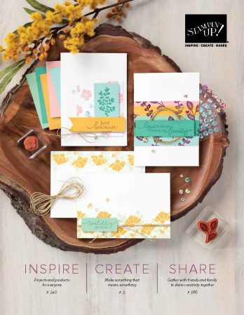jaarcatalogus 2020-2021, stampin up, stampin treasure