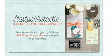 startpakket, demonstrator, team, treasureteam, stampin up, stampin treasure, instappen, welkom